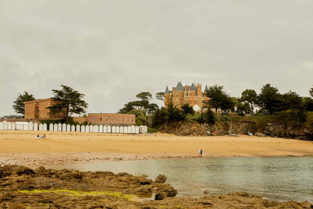 Le Nessay sur sa presqu'île © Matthieu Delbreuve