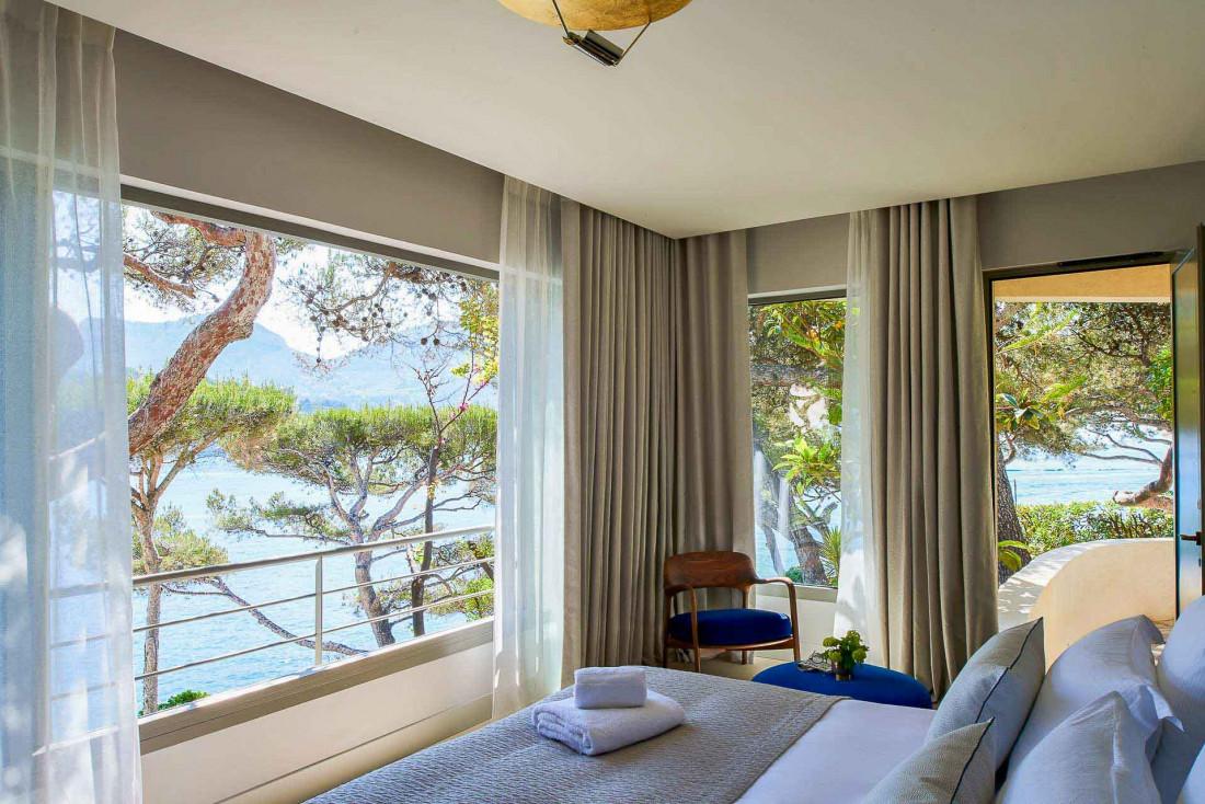 Les Roches Blanches, un boutique-hôtel aux vues spectaculaires dans la baie de Cassis © D. Delmas