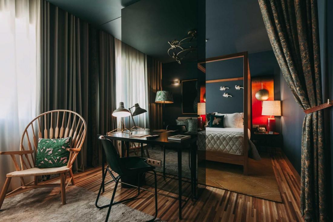 Les chambres léchée du Torel Avant Garde domaine le fleuve Douro © Luiz Ferraz