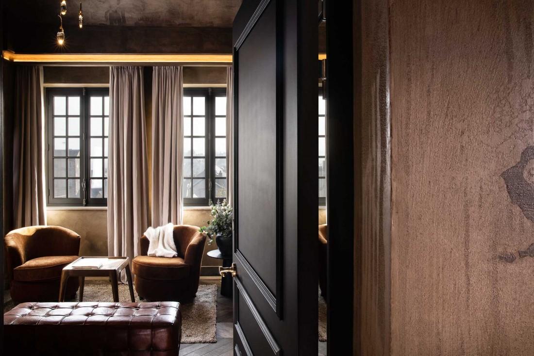 L'Hôtel Saint-Délis (Collection Saint-Siméon) est le dernier-né des hôtels de luxe d'Honfleur © Christophe Bielsa