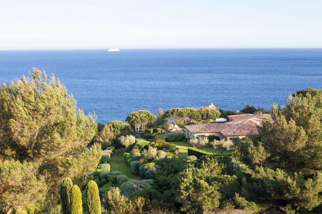La Réserve Ramatuelle, l'un des palaces contemporains de la Côte d'Azur © DR