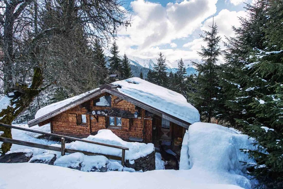Les Chalets-Hôtel de la Croix Fry, sous la neige © Sophie Molesti David Andre