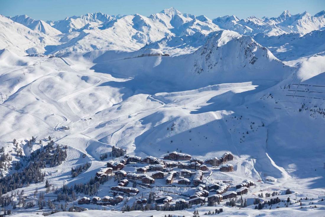 Ici, le site de Belle Plagne, à 2,050 m d'altitude © P. Augier