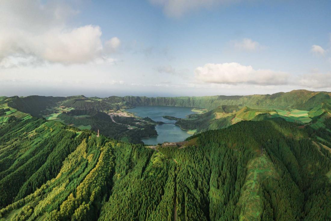 Sete Cidades, sans doute le lieu le plus photographié des Açores © VisitAzores