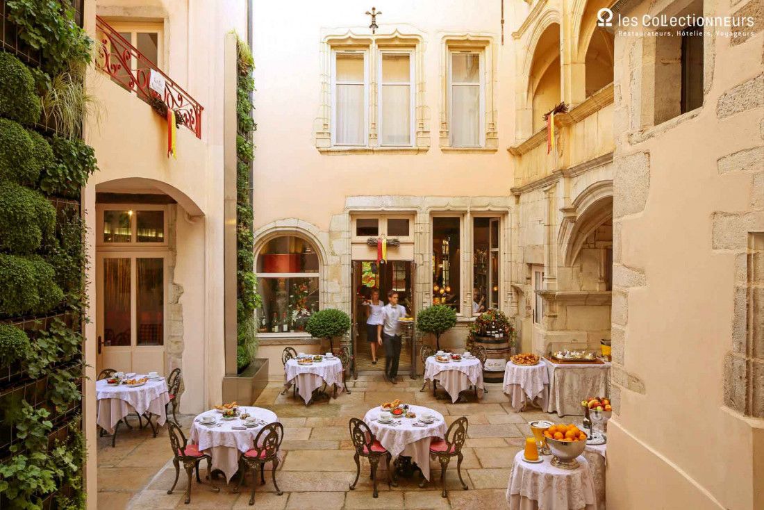En Bourgogne, l'Hôtel Le Cep & Spa Marie de Bourgogne © les Collectionneurs