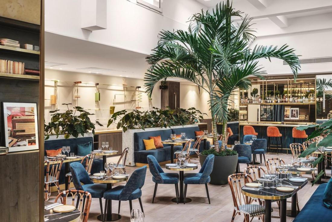 Le Pleyground, bar et restaurant du nouveau Pley Hotel © Nicolas Anetson - Pley Hotel