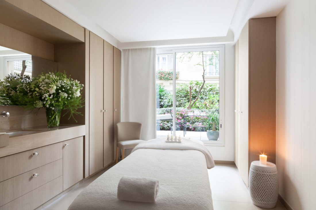 Le spa du Bristol à Paris par La Prairie © DR
