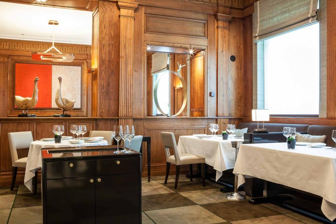 L'impeccable classicime des intérieurs du Taillevent (Paris 8ème) © Arnaud Meyer