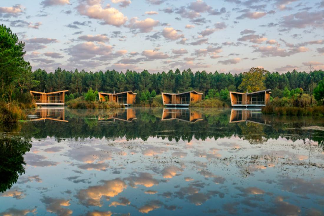 Les Échasses Eco-Lodge, au cœur de la forêt landaise © DR