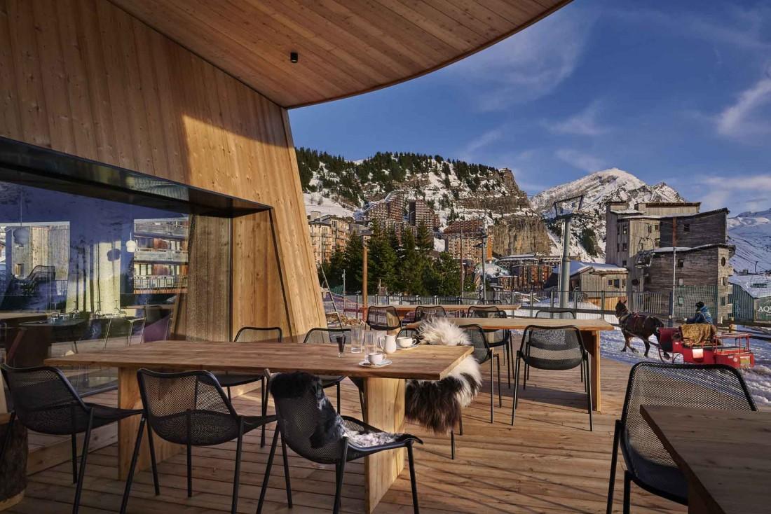 Le nouveau restaurant de l'hôtel Mil8, ouvert en décembre 2019 © DR