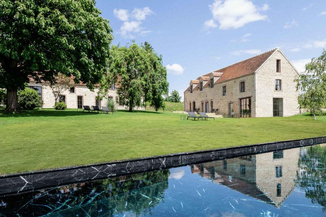 Maison Ceronne est l'adresse du Perche la plus ambitieuse en termes de design © DR