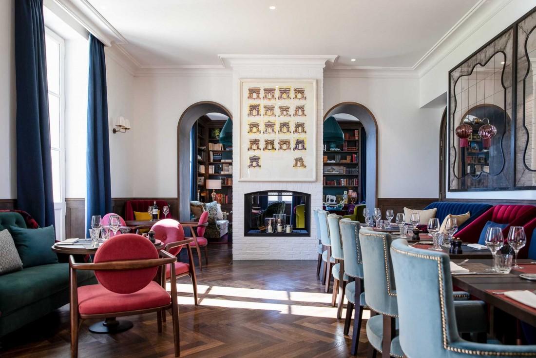 Le bar-restaurant de l'hôtel où profiter d'une fin de journée tranquille © G. Gardette
