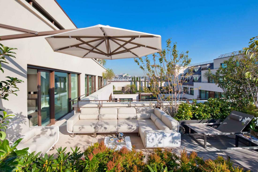 Suite Penthouse au Mandarin Oriental Paris © DR