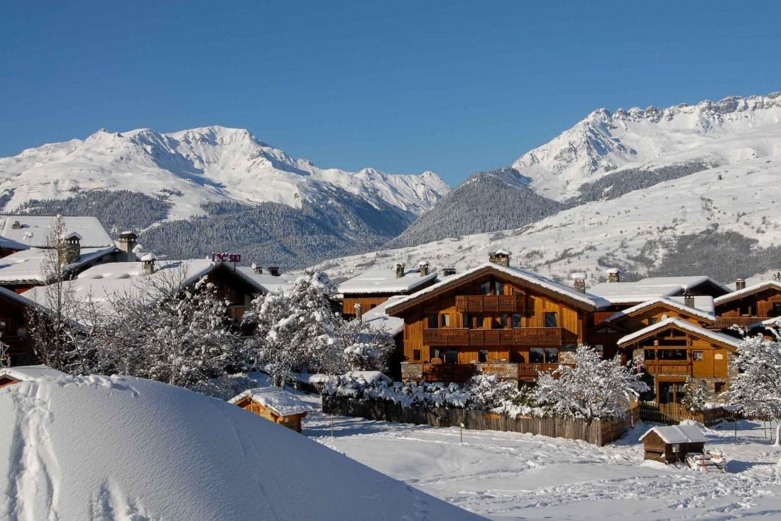 La Plagne Montchavin au charme si typique des villages de montagne © OTGP
