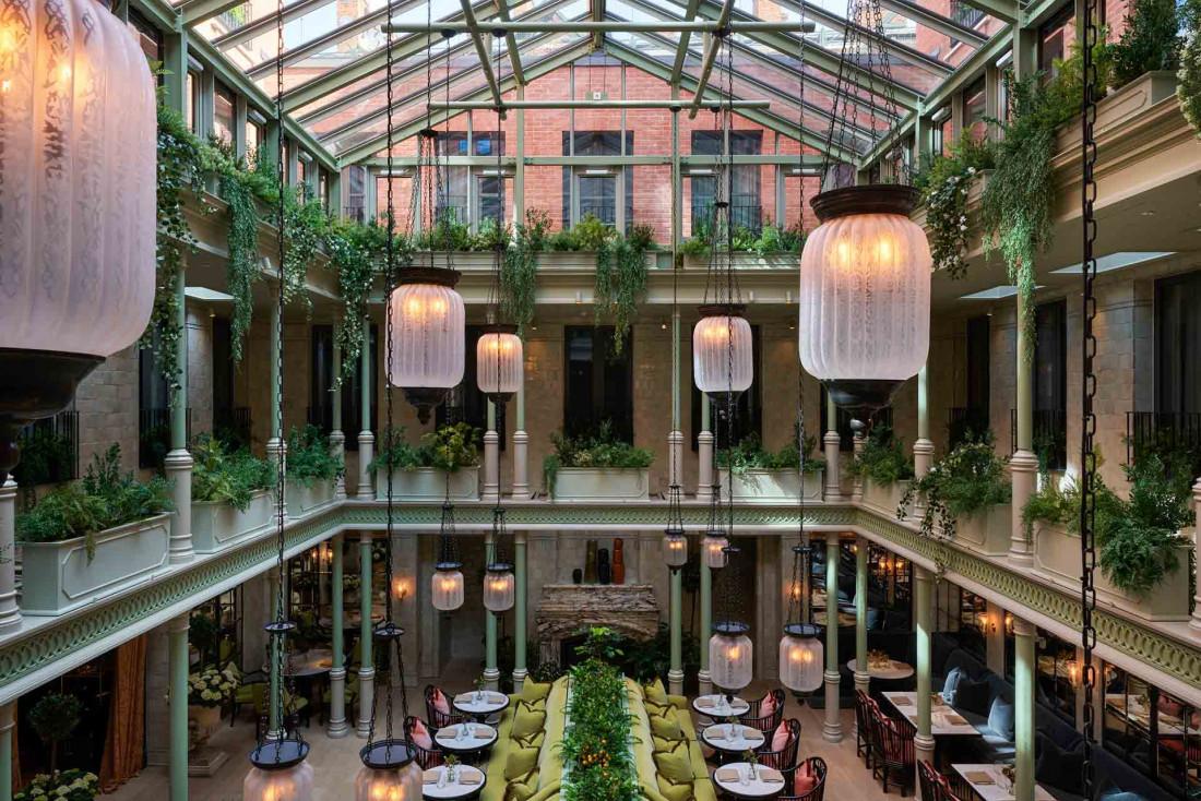 Le tout nouvel hôtel NoMad à Londres © Simon Upton
