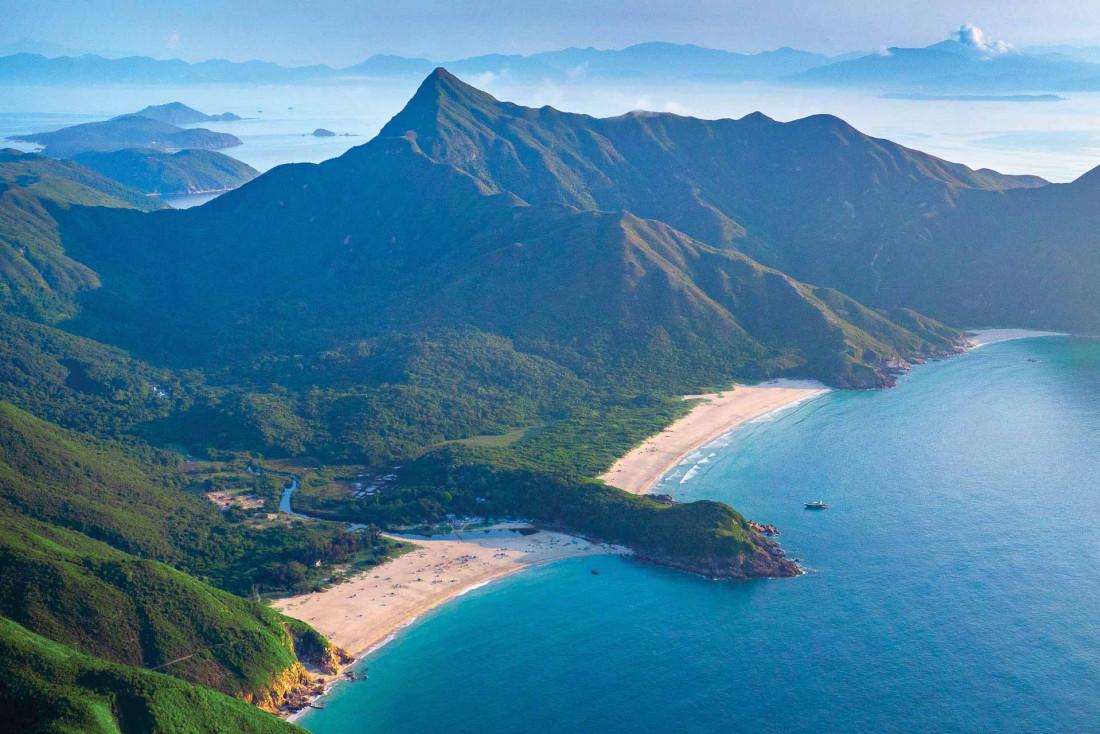 À l'opposé de son image de jungle urbain, Hong Kong se révèle être une destination nature de premier plan © SCMP
