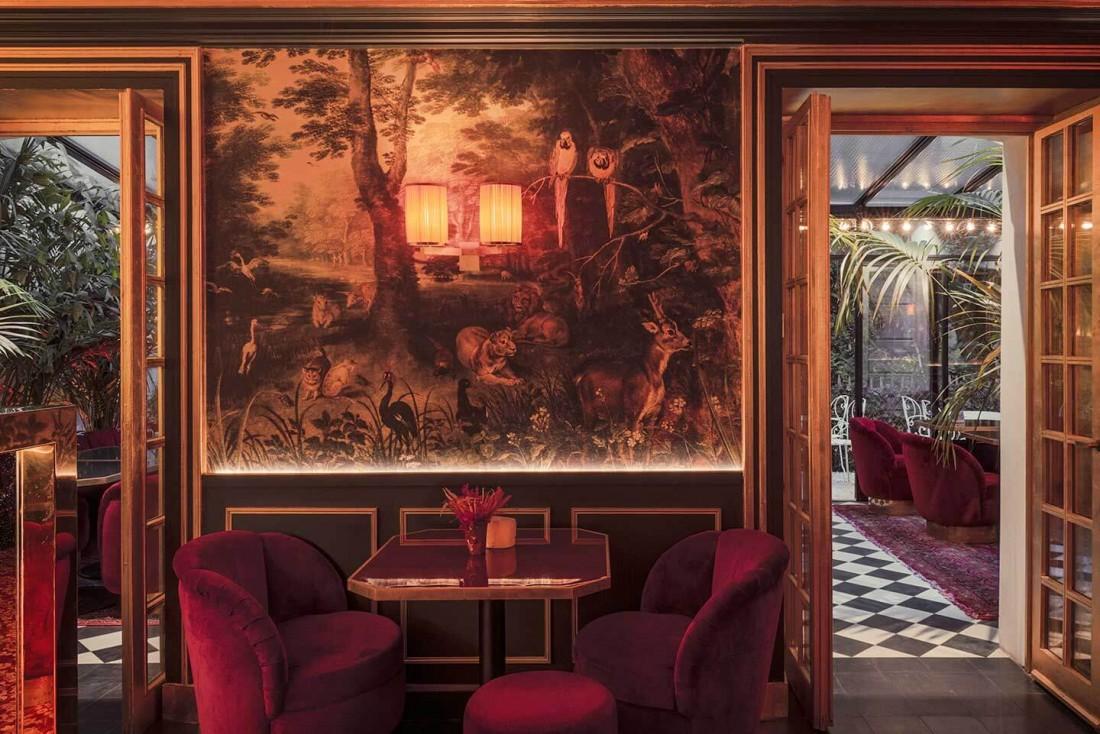 Le bar secret de l'Hôtel Particulier à Montmartre © Pierre Lacroix