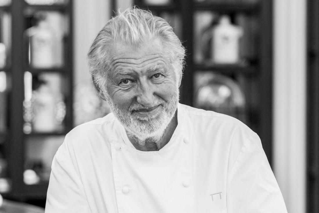 Pierre Gagnaire est non seulement l'un des 50 chefs qui font Paris mais il est également l'un des cuisiniers les plus influents au monde © Jacques Gavard