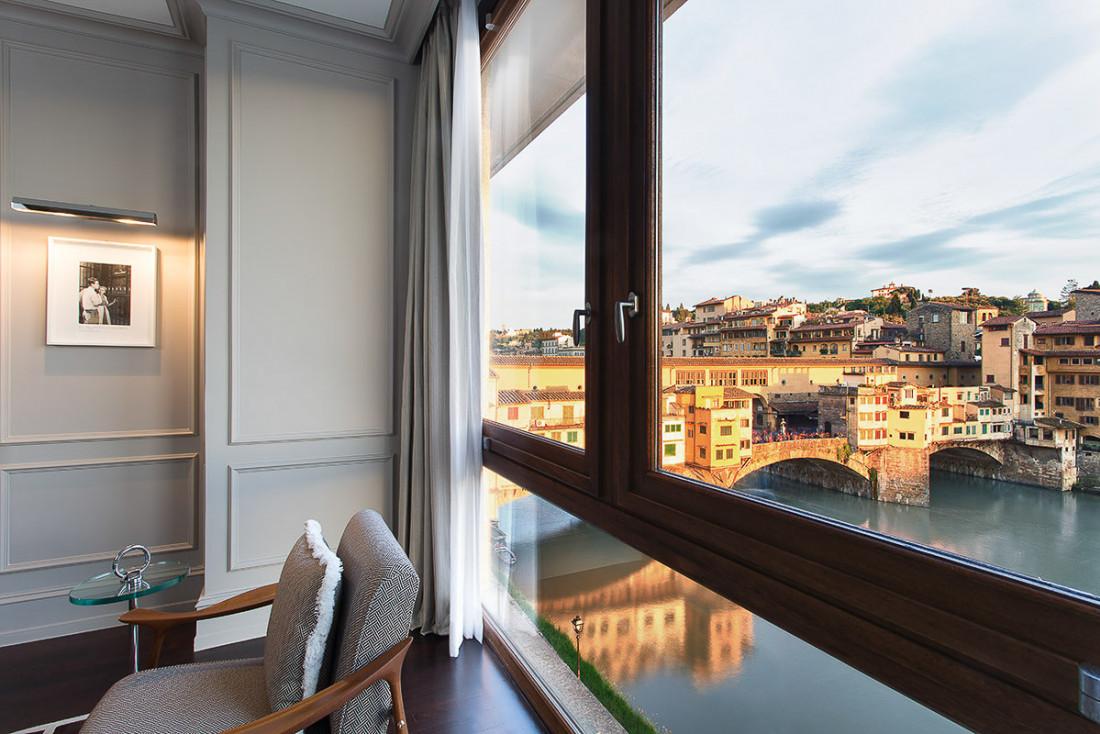 Chambre avec vue au Portrait Firenze © DR