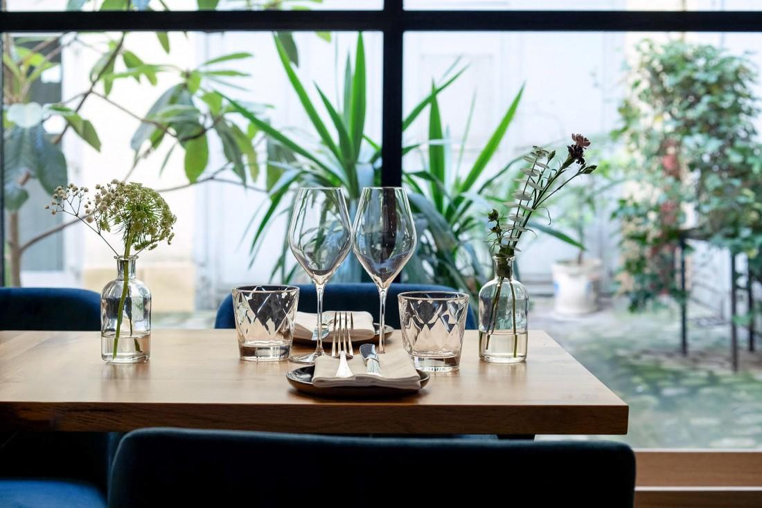 Pouliche, dans le 10ème arrondissement, est le premier restaurant d'Amandine Chaignot © Benedetta Chiala