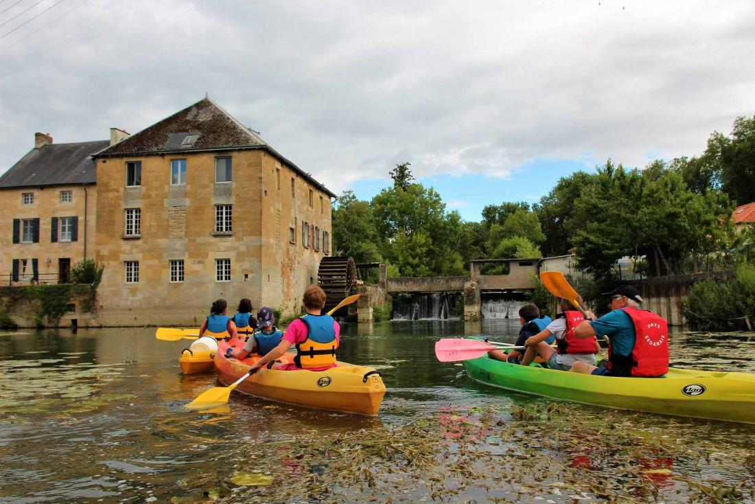 Rand'eau Meuse depuis le petit port de Stenay © Sabrina Provost