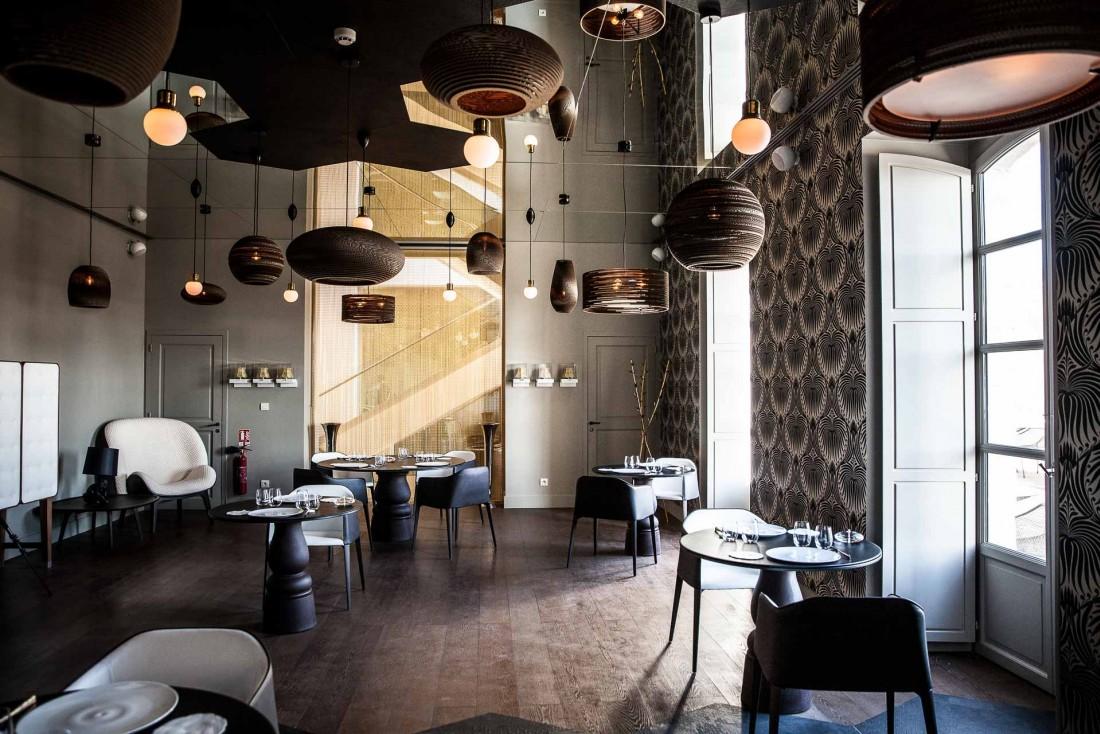 Le restaurant gastronomique étoilé Le Cloître au Couvent des Minimes © DR
