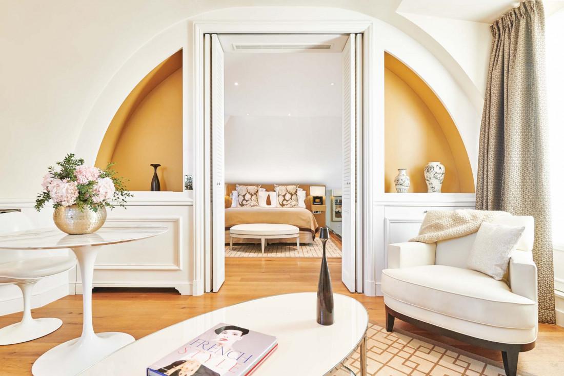 La suite Royale du Grand Hôtel du Palais Royal © DR