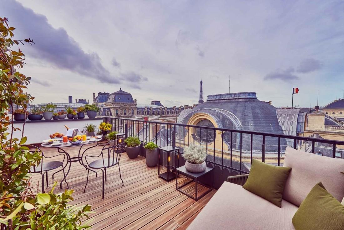La terrasse panoramique du Grand Hôtel du Palais Royal © DR