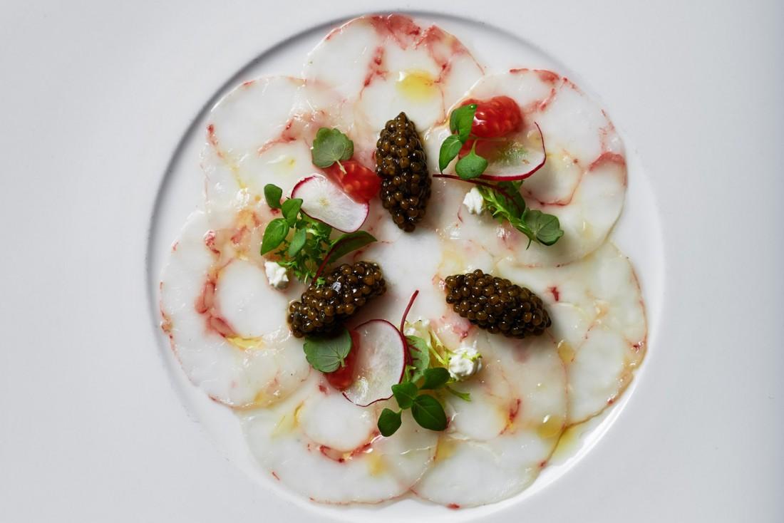 Restaurant Sommet de l'hôtel Alpina © Alpina Gstaad