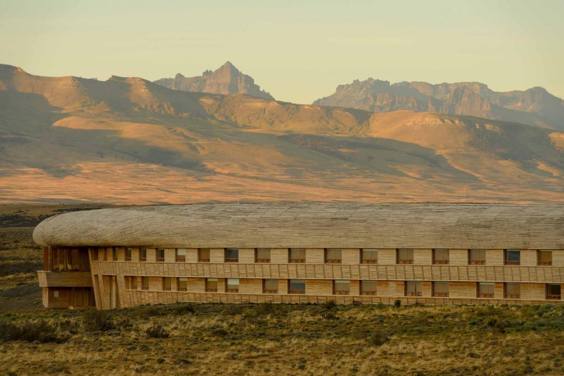 Le Tierra Patagonia dans le parc Torres del Paine au Chili© Tierra Hotels