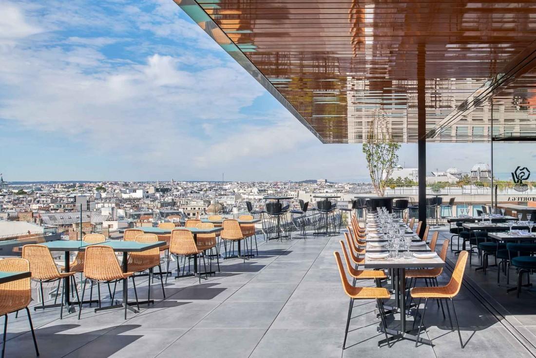 Tortuga | La terrasse en journée © Ambroise Tézenas
