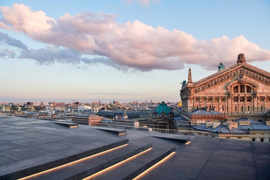 Tortuga | La terrasse des Galeries Lafayette Haussmann est située face Palais Garnier © Ambroise Tézenas