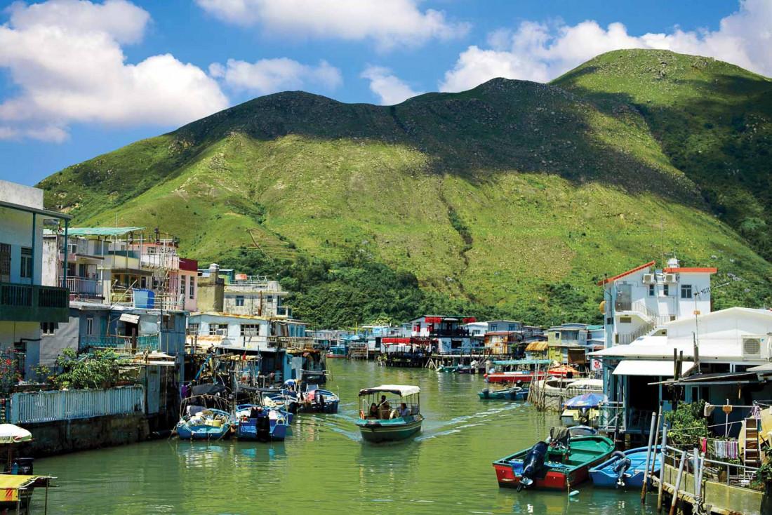 Le village de pêcheurs de Tai O est un incontournable de toute visite à Hong Kong © Tse Hon Ning