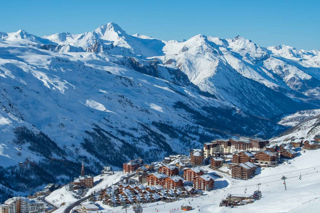 L'hiver arrive dans les 3 Vallées, plus grand domaine skiable au monde, avec les premières chutes de neige © Gilles Lansard