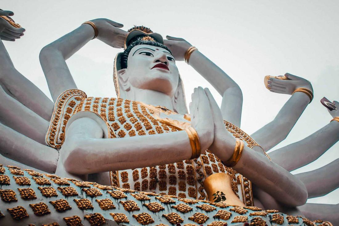Le Wat Plan Laem sur l'île de Koh Samui © Kiki Siepel