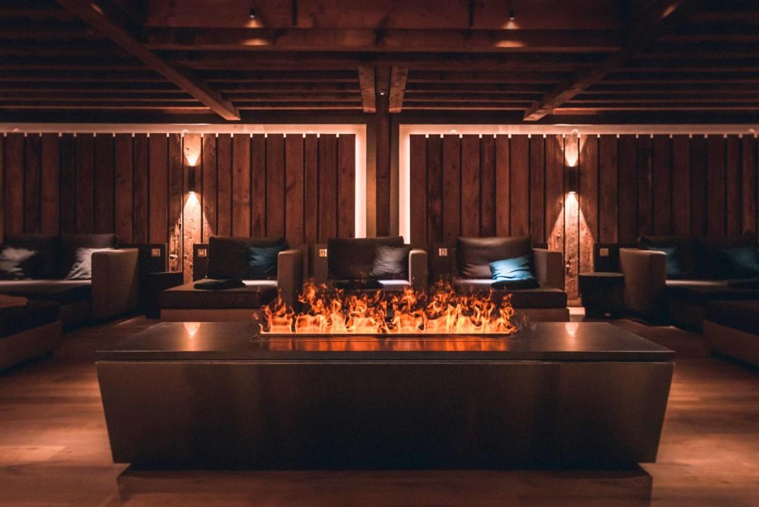 Des salles de repos aux atmosphères différentes permettent de se reposer entre deux baignades © Nis&For