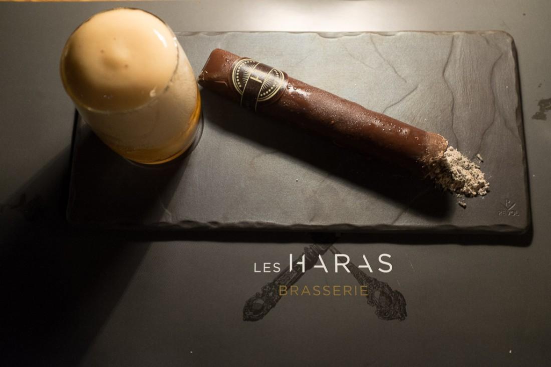 Le cigare « Cuba Libre », une des stars de la carte... des desserts.