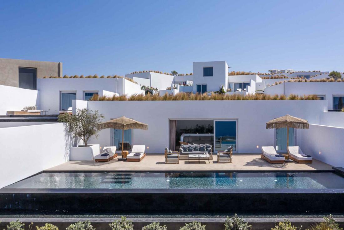 La villa de 4 chambres et sa propre piscine © Andronis Arcadia