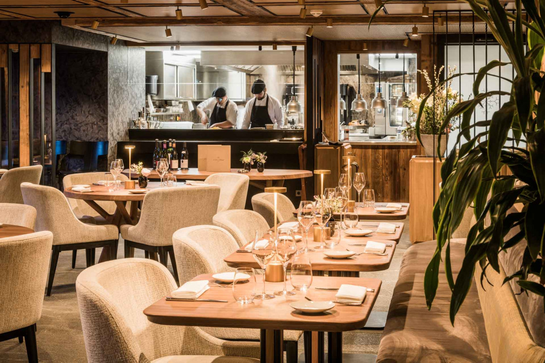 L'Armancette à Saint-Gervais et sa table gastronomique ©DR