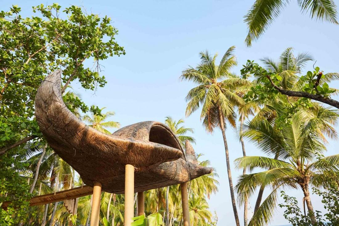 JOALI Maldives : des oeuvres d'art ponctuent l'île © DR