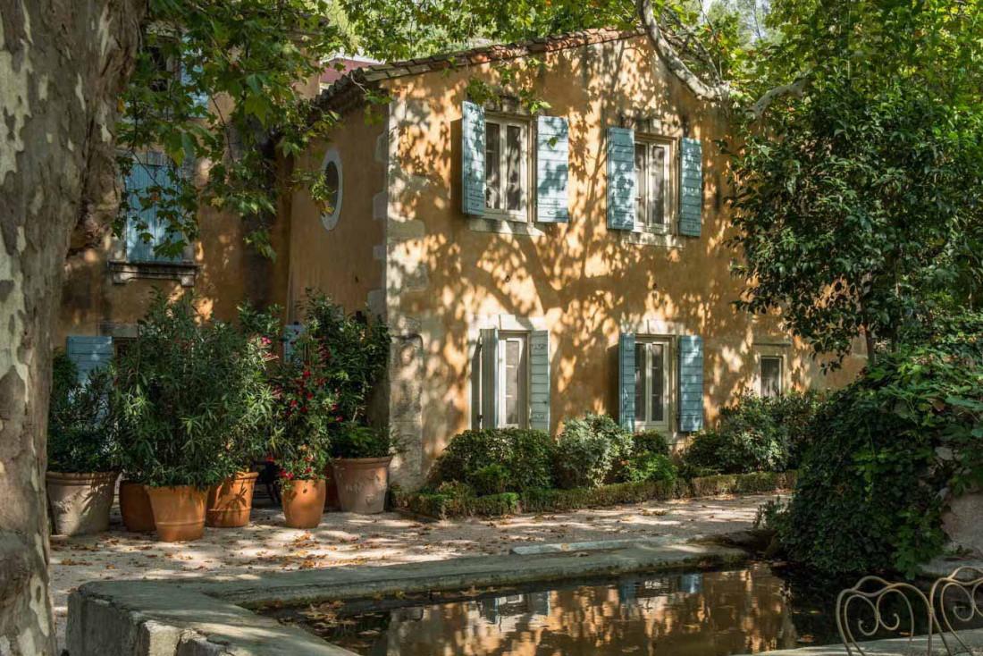 Baumanière, l'hôtel mythique des Baux-de-Provence et des Alpilles © DR