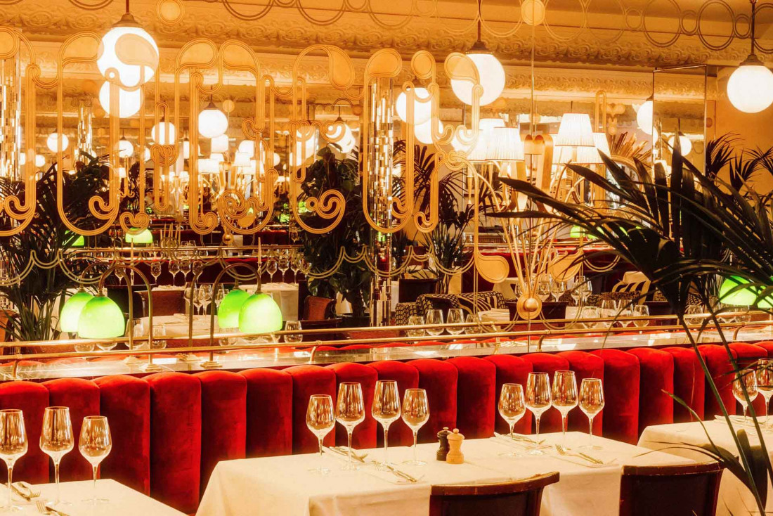 La Brasserie Thoumieux cultive une ambiance Belle Époque © Angela du Paolo