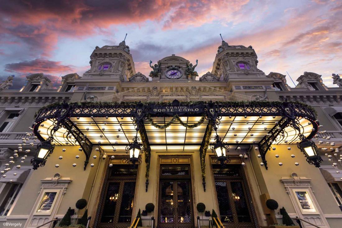 Le casino de Monte-Carlo, connu dans le monde entier © B. Vergely