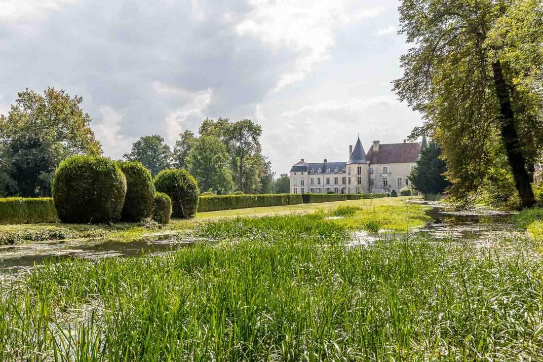 Le Château de Taisne, lieu incontournable de toute visite dans l'Aube © Olivier Frajman Photographe