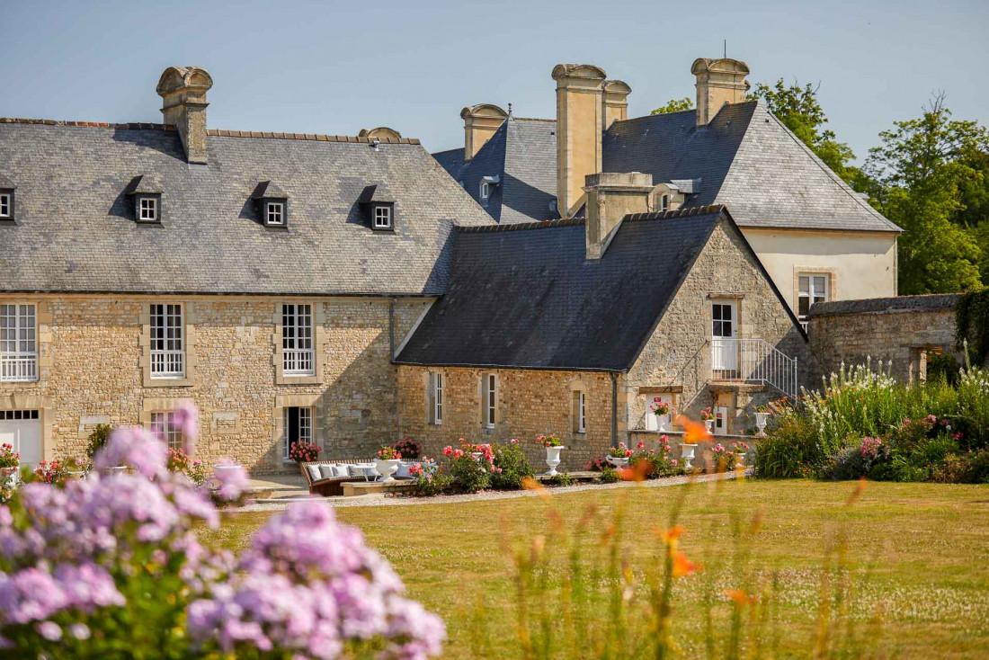 Château d'Audrieu, un hôtel 5-étoiles estampillé Relais & Châteaux dans la région des Plages du Débarquement © Antoine Schramm