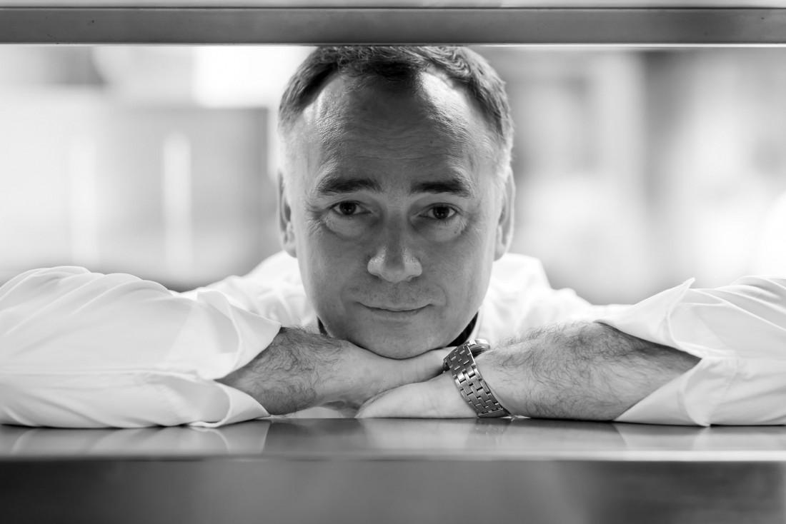 Portrait du chef étoilé et MOF Alain Montigny © DR