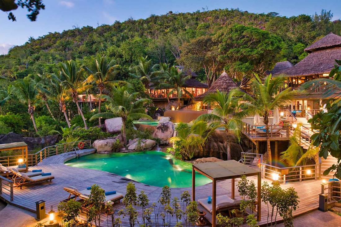 Le Constance Lemuria, l'un des plus beaux hôtels des Seychelles ©Constance Hotels