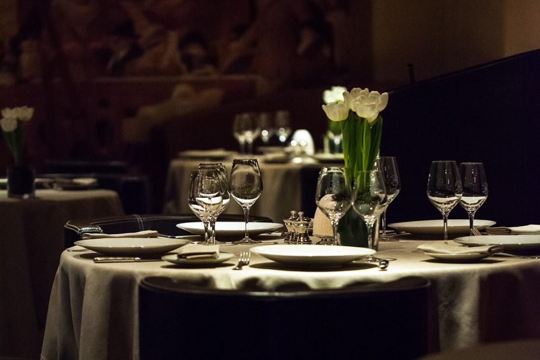 Le 1920, emmené par le chef Julien Gatillon, est l'une des tables gastronomiques incontournables à Megève © Domaine du Mont d'Arbois