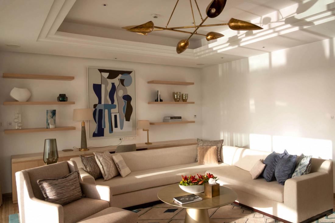 L'intérieur des chambres du Fairmont Taghazout Bay © Jean-François Guggenheim