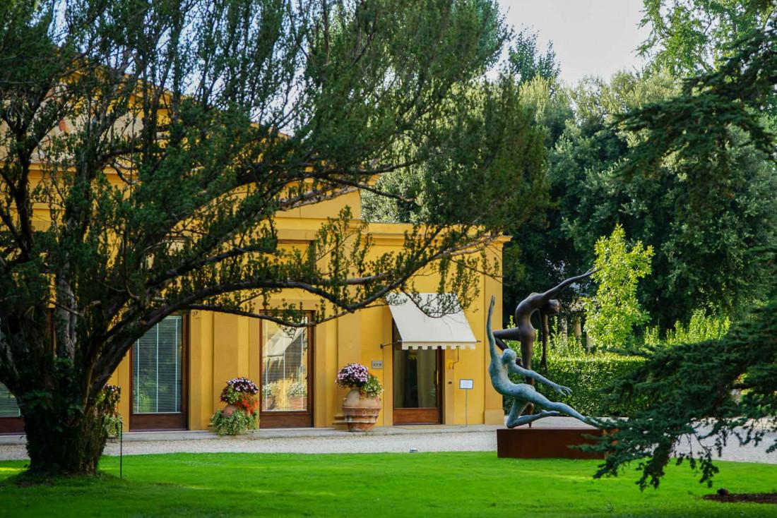 Four Seasons Hotel Firenze | L'espace fitness également au cœur du jardin de l'hôtel © MB|YONDER.fr